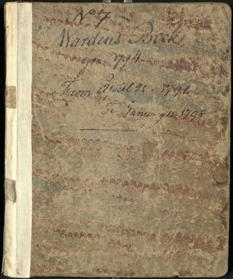Carpenters' Company Minutes, 1794 - 1798.jpg