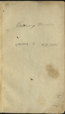 Carpenters' Company Minutes, 1804-1825.jpg